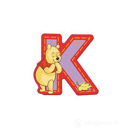 Lettera adesiva K Winnie the Pooh (82769)