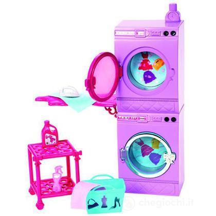 Barbie Glam Lavatrice - Arredamenti basic (X7938)