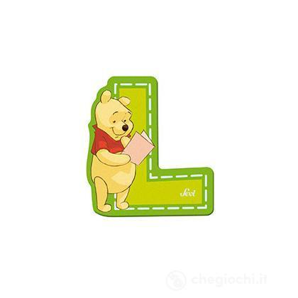 Lettera adesiva L Winnie the Pooh (82770)