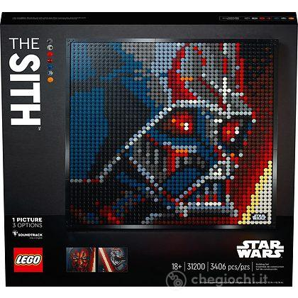 I Sith Star Wars - Lego Art (31200)