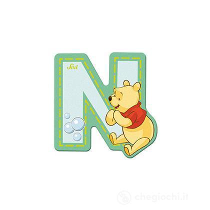 Lettera adesiva N Winnie the Pooh (82772)