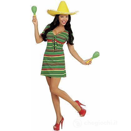 Costume Adulto Donna Messicana M