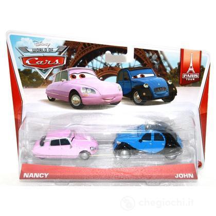 Nancy e John - Cars confezione da 2 (BDW87)