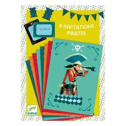 Inviti per compleanno Pirati (DD04774)