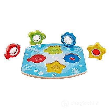 Puzzle pesci oceano con lenti (E1617)