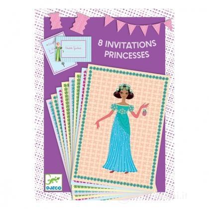Inviti per compleanno Principesse (DD04775)