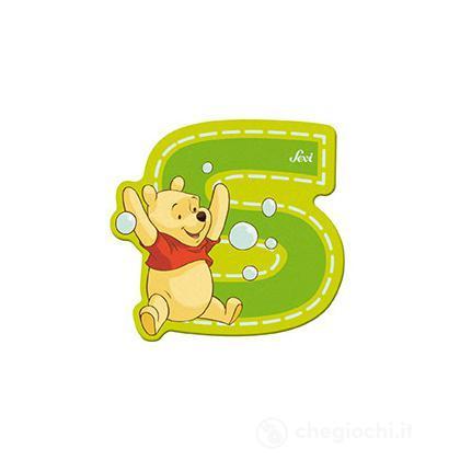 Lettera adesiva S Winnie the Pooh (82777)
