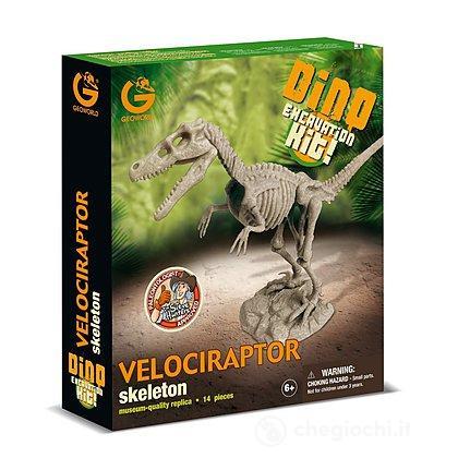 Dino Excavation Kit Velociraptor (Cl736K)