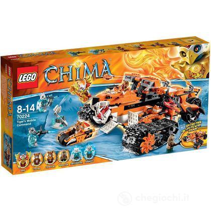 Comando mobile di Tiger - Lego Legends of Chima (70224)