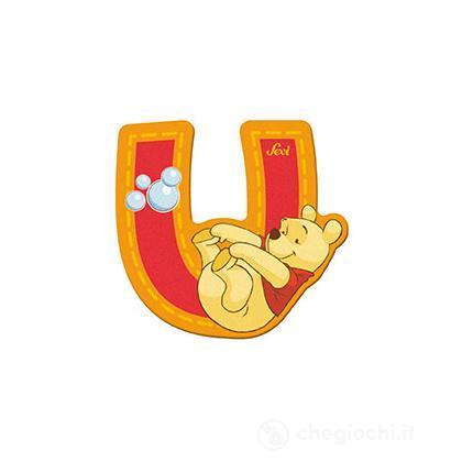 Lettera adesiva U Winnie the Pooh (82779)