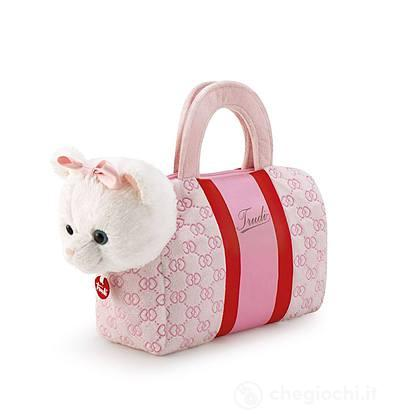 Gattino Fashion bag pink hearts (29779)