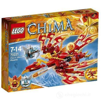 La fenice di fuoco di Flinx - Lego Legends of Chima (70221)