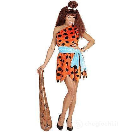 Costume Adulto Donna delle Caverne S