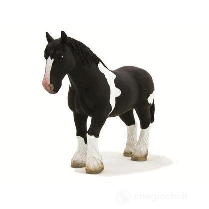 Animal Planet cavallo clydesdale bianco e nero