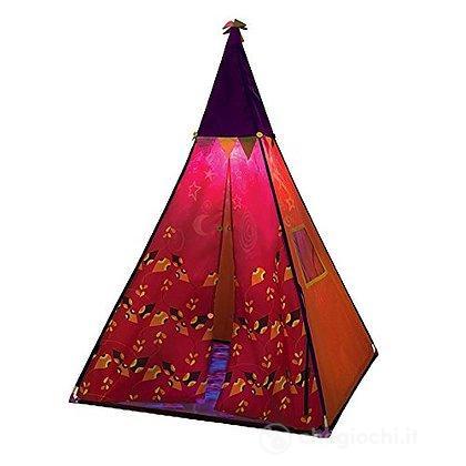 Tenda indiani rossa B.Teepee con Luce (BX1286Z)