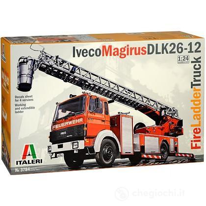 Camion pompieri Iveco Magirus Dlk 23-12 Fire Ladder Truck 1/24 (IT3784)