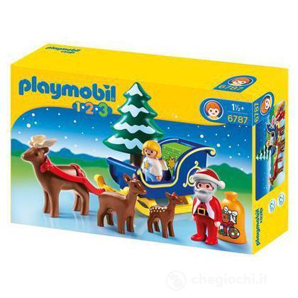 Babbo Natale Sulla Slitta 1.2.3 (6787)