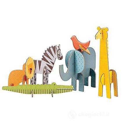 Animali In Cartone 3D - Safari (Pe36613)