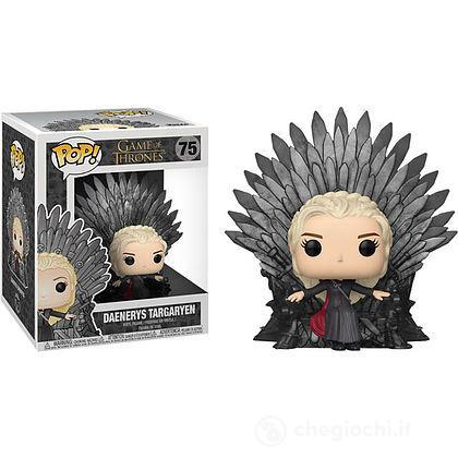 Daenerys seduta sul Trono di Spade