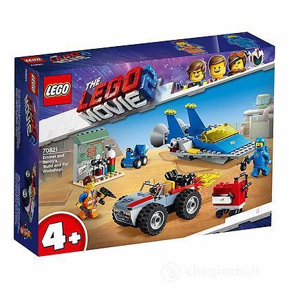 Emmet e l'officina Aggiustatutto di Benny! - Lego Movie 2 (70821)