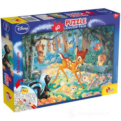 Puzzle Double Face Plus 60  Bambi