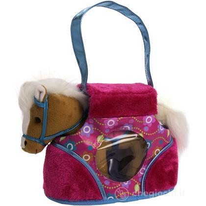 Borsetta in Fantasia Floreale con Pony