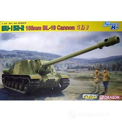 Isu-152-2 155mm Bl-10 Cannon (2in1) Smart Kit