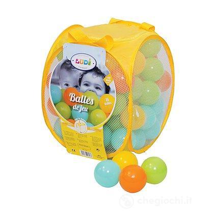 Palle gioco in sacca multicolor (2798)
