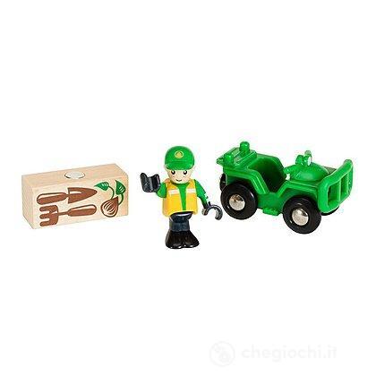 Veicolo ATV con carico (33798)
