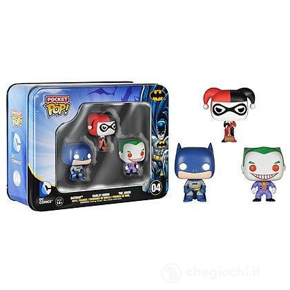 Batman - Confezione 3 Personaggi Batman, Joker e Harley Quinn (4798)