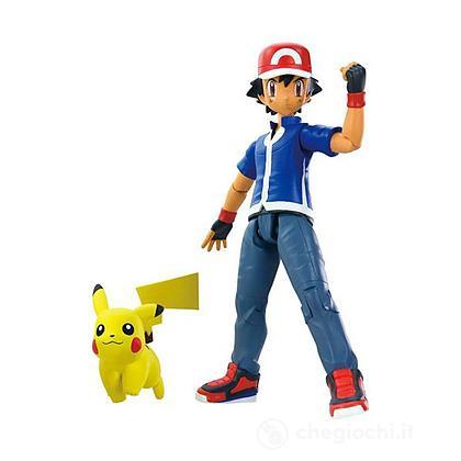 Figure Pokemon - Ash & Pikachu