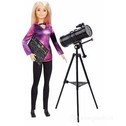 Barbie Astrofisica con Telescopio National Geographic (GDM47)