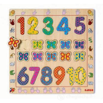1 to 10 Puzzle (DJ01801)