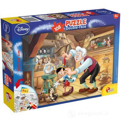 Puzzle Double Face Plus 108 Pinocchio