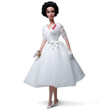 Barbie Liz Taylor White Diamonds (W3471)