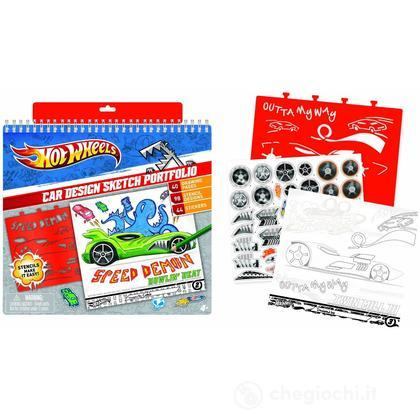Hot Wheels Sketch Portfolio Set da disegno (FA46803)