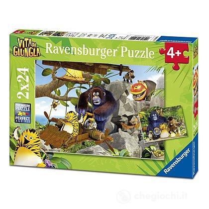 Puzzle Vita da giungla - In cerca di nuove avventure (07805)