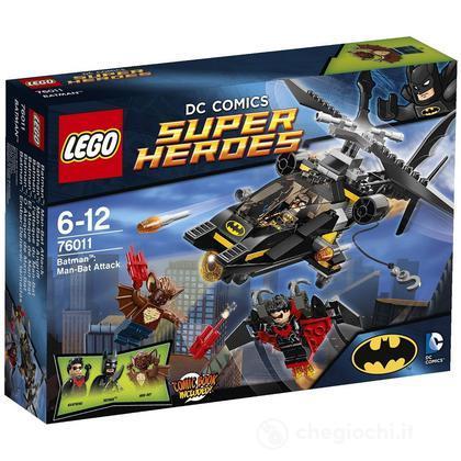 Batman: Man-Bat all'attacco - Lego Super Heroes (76011)