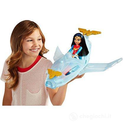 Wonder woman Jet Invisibile (DYN05)