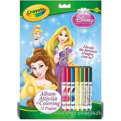 Album Attività & Coloring Disney Principesse (5807)