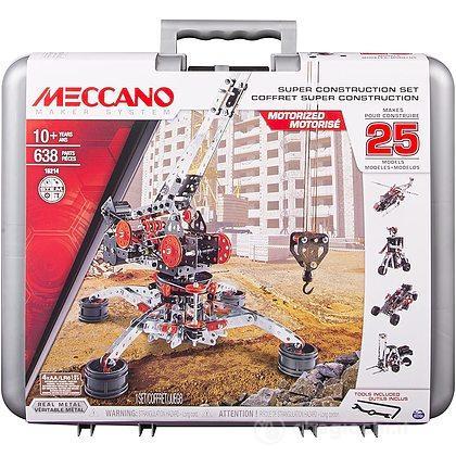 Valigetta Meccano 638 Pezzi