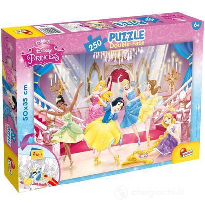 Lisciani Double Puzzle 250 Princess Face Plus QsCxtrdh