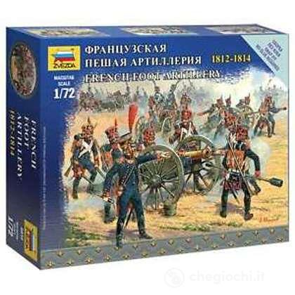 Soldati Artiglieria francese a piedi. Guerre napoleoniche 1/72 (6810)