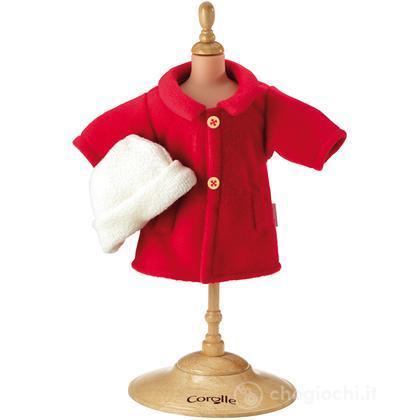 Cappotto rosso medio