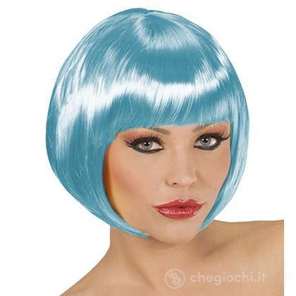 Parrucca Chanel Azzurra