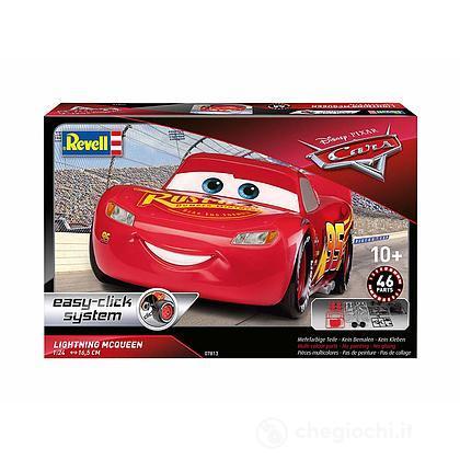"""Auto 1/25 Cars 3 - Saetta McQueen """"Crazy 8 Race"""" (easy click). Scala 1/25 (RV07813)"""