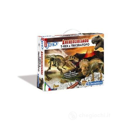 Focus Junior - T-rex e Triceratopo