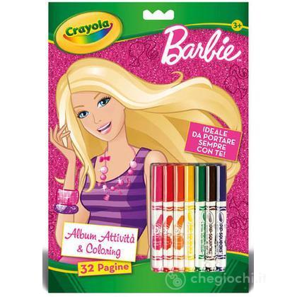 Album Attività & Coloring Barbie (5815)