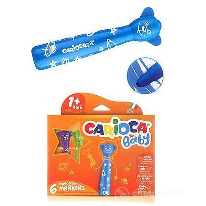 6 pennarelli Carioca Teddy Marker (42815)