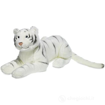 Tigre Bianca sdraiata grande